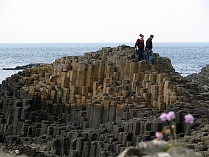 North Atlantic Igneous Province - Giant's Causeway – polygonal basalt pavement