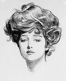 Image result for charles dana gibson gibson girl