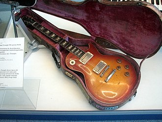 Flame maple - 1958 Gibson Les Paul  with light flame pattern