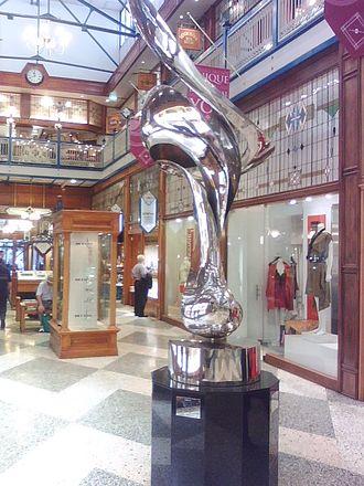 Brisbane Arcade - Image: Gidongraetzmirageath ebrisbanearcade