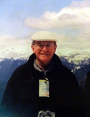Gilbert LaFreniere - Gil in the Canadian Rockies