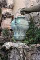 Gioacchino fortini, fontana di gesù e la samaritana al pozzo, 04 vaso.JPG