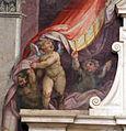 Giovan battista naldini, affreschi della tomba di michelangelo 01.JPG