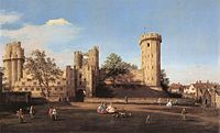 Giovanni Antonio Canal, il Canaletto - Warwick Castle - the East Front - WGA03951.jpg