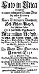 Giovanni Battista Ferrandini - Catone in Utica - german titlepage of the libretto - Munich 1753.jpg