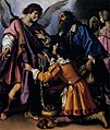 Giovanni Biliverti - The Archangel Raphael Refusing Tobias's Gift - WGA2195.jpg