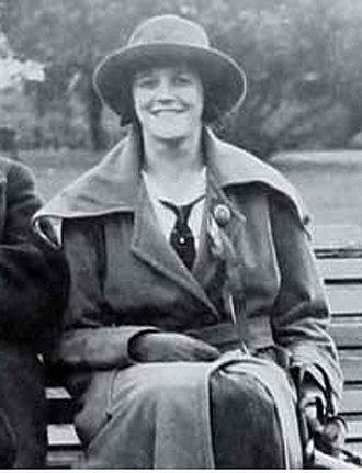 Ernest Belcher - Gladys Greenwood in 1922 aged 18.
