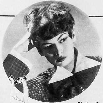 Gladys Parker - Parker in 1934