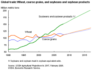 World food prices increased dramatically in 2007 and the 1st and 2nd quarter of 2008