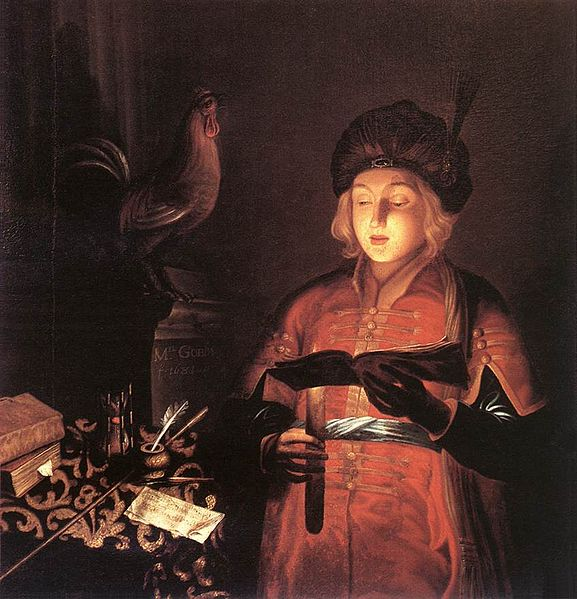File:Gobin, Michel - Young Man with a Candle - 1681.jpg