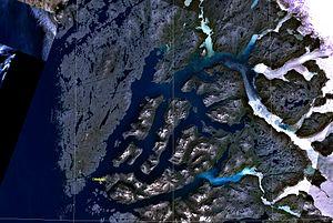 Nuup Kangerlua - Image: Godthaabsfjord