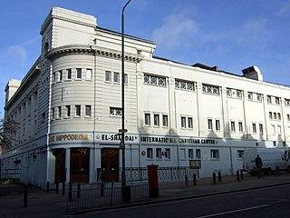 Golders Green Hippodrome theatre in London, England