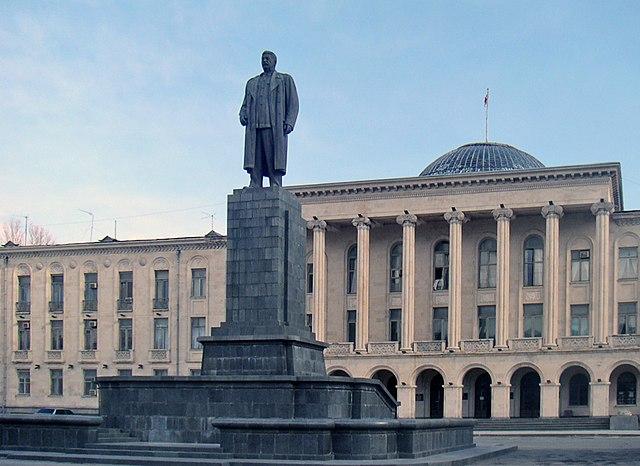 Памятник Сталину в Гори, Грузия