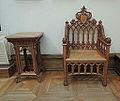 Gothic revival furniture 04(Tretyakov gallery) by shakko.JPG