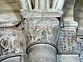 Gournay-en-Bray (76), collégiale St-Hildevert, bas-côté nord, chapiteaux du 5e pilier libre, côté nord.jpg