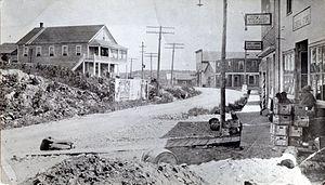 Kirkland Lake - Government Road, c. 1920