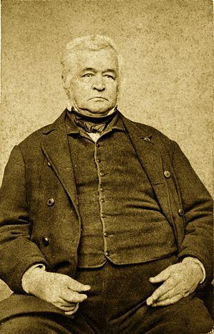 John Hubbard (Maine politician) - Hubbard circa 1850