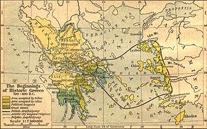 La Grèce antique, entre 700 et 600 av. J.-C.