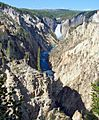 Grand Canyon of Yellowstone, Lower Falls 9-11 (24188373844).jpg