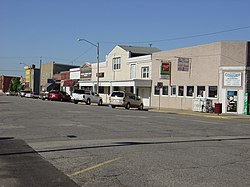 Downtown Granville, Illinois