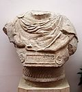 Grave bust Aquincum centurion T Claudius Victor 2nd c AD IMG 0564.JPG