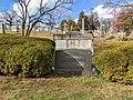 Grave of Senator Burton K Wheeler, Rock Creek Cemetery, Washington DC.jpg