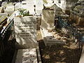 Graves of Malka and Sarah Sarah Aaronsohn, Zikhron Ya'aqov.jpg