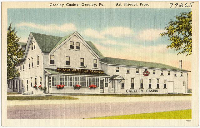 PA has casino history.