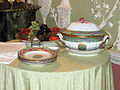 Green dining room - Items from dinner service 01.jpg