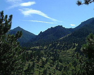 Prehistory of Colorado - Image: Green mountains