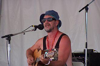 Greg Brown (folk musician) - Greg Brown at the Falcon Ridge Folk Festival in 2004