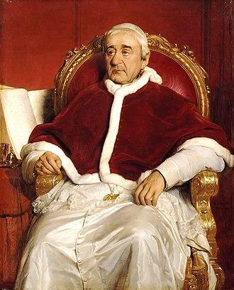 Pope Gregory XVI - Image: Gregory XVI
