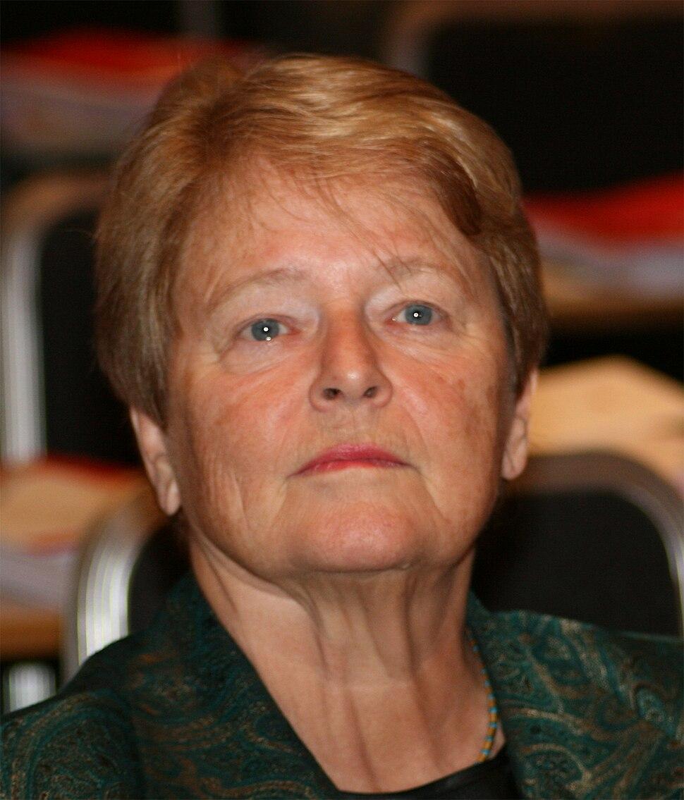 Gro Harlem Brundtland 2009