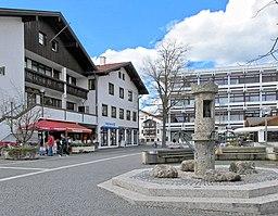 Rathausplatz in Grünwald
