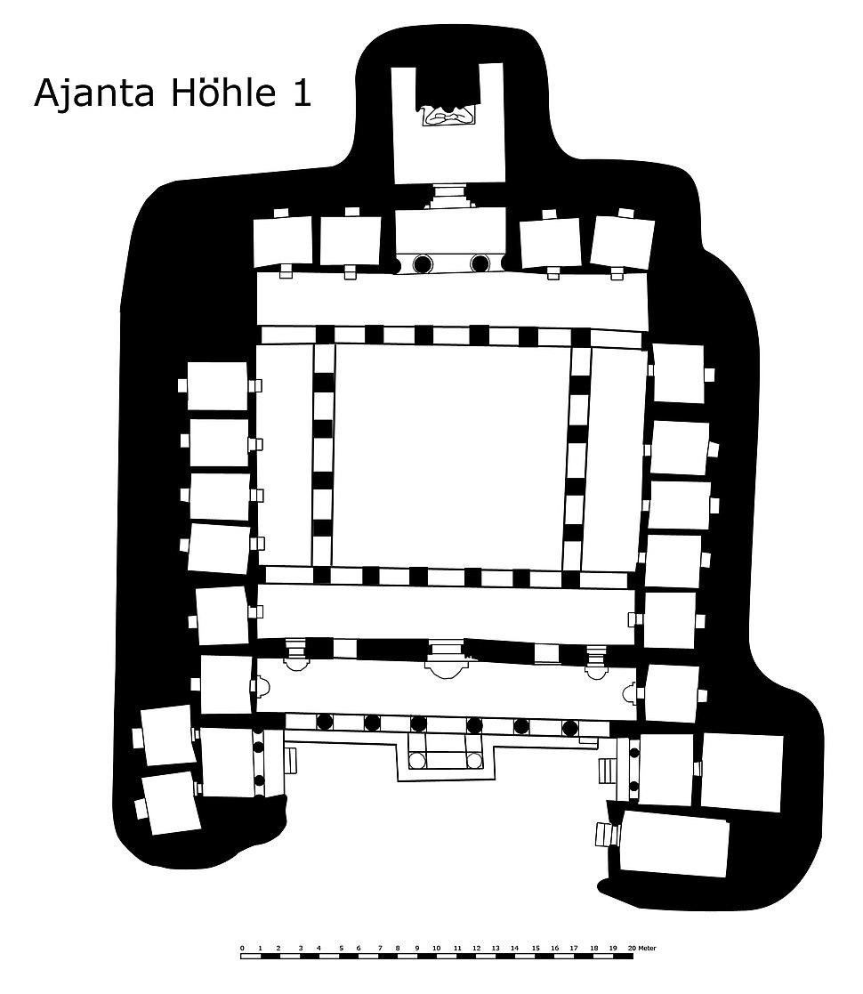 GrundrissAjantaHoehle1