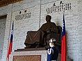 Guard with Chiang Statue - National Chiang Kai-Shek Memorial Hall - Taipei - Taiwan (33985275228).jpg