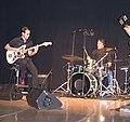 Guitarrista y baterista de Ratolines en el IX Festival Internacional de Mediometrajes La Cabina.jpg