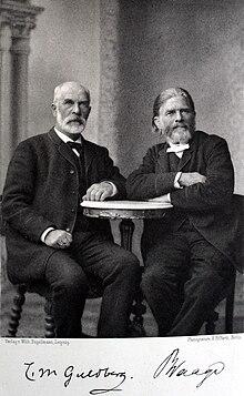 cato maximilian guldberg links und peter waage im jahr 1891 das massenwirkungsgesetz - Massenwirkungsgesetz Beispiel