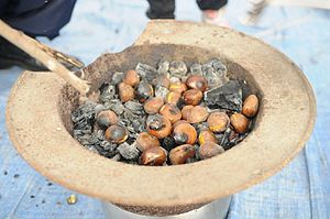 Roasted chestnut - Image: Gunbam (roasted chestnuts)