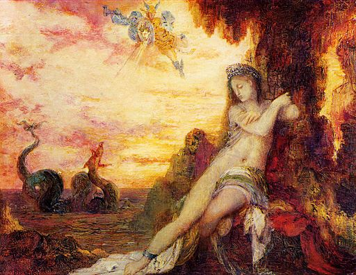 Gustave Moreau - Perseus and Andromeda, 1870