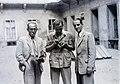Három férfi, 1946. Fortepan 104717.jpg