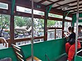 HK 香港電車 Hongkong Tramways 德輔道中 Des Voeux Road Central the Tram 120 view Central statue square July 2019 SSG 01.jpg