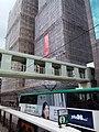 HK CWB 銅鑼灣 Causeway Bay 高士威道 Causeway Road footbridge n building under construction Sunday June 2019 SSG 05.jpg