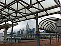HK Central Waterfront Promenade & Public Pier 9 nine view Wan Chai Central Plaza Nov-2012.JPG