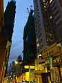 HK Sai Ying Pun Western Street evening King's Hill construction site Dec-2015 DSC.JPG