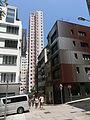 HK Sheung Wan Upper Station Street Tai Ping Shan Street view Elegance Court facades Sept-2013.JPG