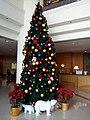 HK TSW 天水圍 Tin Shui Wai 天恩路 Tin Yan Road 嘉湖海逸酒店 Harbour Plaza Resort City hotel interior Xmas tree Dec 2016 Lnv2.jpg