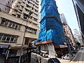 HK Tram 92 view 灣仔 Wan Chai 莊士敦道 Johnston Road October 2019 SS2 210 construction site Burrows Street 01.jpg