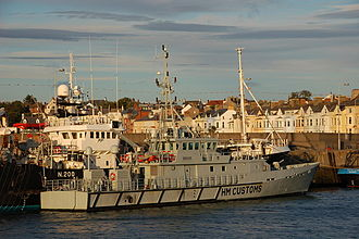 Damen Group - HMCC Seeker customs patrol vessel was delivered to the UK government in 2001