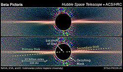 Billede med Rumteleskopet Hubble